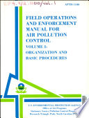 APTD 1100  Field Operation and Enforcement Manual for Air Pollution Control