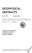 Geophysical Abstracts Book