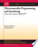 Microcontroller Programming and Interfacing TI MSP430 Book