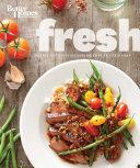 Better Homes and Gardens Fresh Cookbook