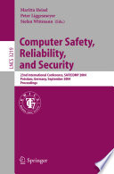 Computer Safety Reliability And Security Book PDF