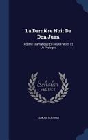 La Derniere Nuit de Don Juan