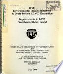 Improvements to I-195, Providence County
