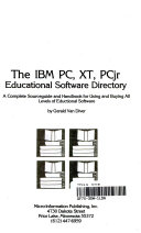 The IBM PC, XT, PCjr educational software directory