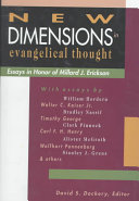New Dimensions in Evangelical Thought