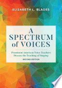 A Spectrum of Voices Book PDF