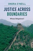 Justice across Boundaries