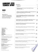 Kawasaki Steel Technical Report