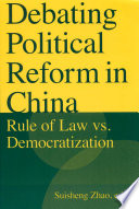 Debating Political Reform in China