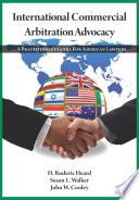 International Commercial Arbitration Advocacy