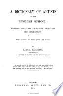 A Dictionary of Artists of the English School