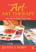 The Art of Art Therapy Pdf/ePub eBook