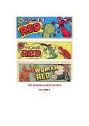 The Woman In Red Comic Book No 1