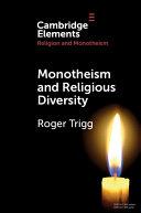 Monotheism and Religious Diversity