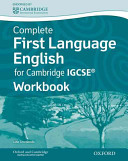 First Language English For Cambridge Igcse Workbook
