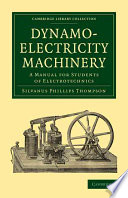 Dynamo Electricity Machinery Book