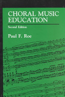 Choral Music Education