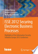 ISSE 2012 Securing Electronic Business Processes Book