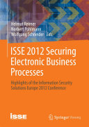 Pdf ISSE 2012 Securing Electronic Business Processes Telecharger