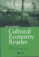 Cover of The Blackwell Cultural Economy Reader