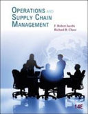 Operations and Supply Chain Management Book