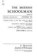 The Modern Schoolman