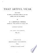 That Artful Vicar Book