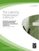 Facilitating Organizational Learning   KM