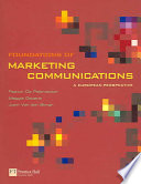 Foundations of Marketing Communications