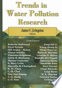 Trends In Water Pollution Research Book PDF
