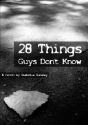 Pdf 28 Things Guys Don't Know; A Novel
