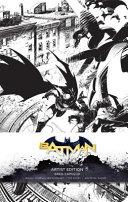 DC Comics  Batman Hardcover Ruled Journal  Artist Edition
