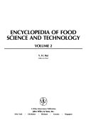 Encyclopedia of Food Science and Technology Book