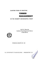 Eighteen Years of Selection  Timber Management on the Crossett Experimental Forest Book