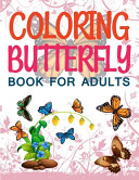 Coloring Butterfly Book For Adults