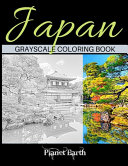 Japan Grayscale Coloring Book
