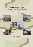 An Army at War