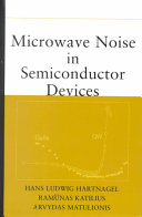 Microwave Noise in Semiconductor Devices