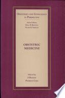 Obstetric Medicine Book