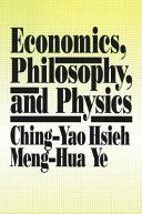 Economics Philosophy And Physics Book PDF