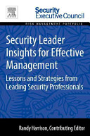 Security Leader Insights for Effective Management Book