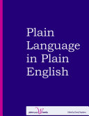 Plain Language in Plain English