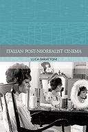Italian Post-Neorealist Cinema