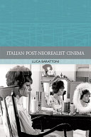 Italian Post-Neorealist Cinema