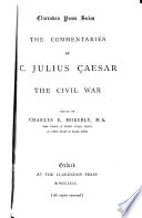 The Commentaries of C  Julius Caesar