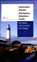 Cover of Australian Master Workplace Relations Guide