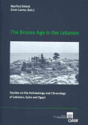 The Bronze Age in the Lebanon