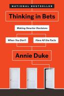 Thinking in Bets Pdf/ePub eBook