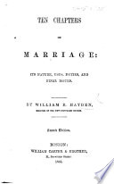 Ten Chapters on Marriage