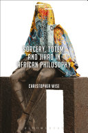 Sorcery  Totem  and Jihad in African Philosophy